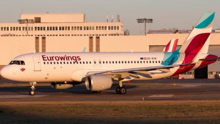 Eurowings 20% Rabatt auf ausgewählte Flüge