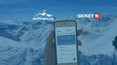 Dank Kooperation mit Skiset bequem und günstig Ski leihen