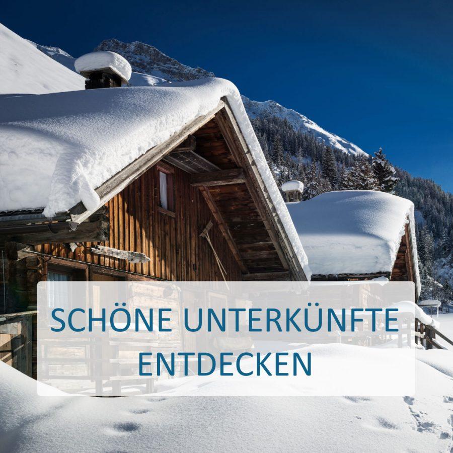 Skiurlaub Unterkunft finden